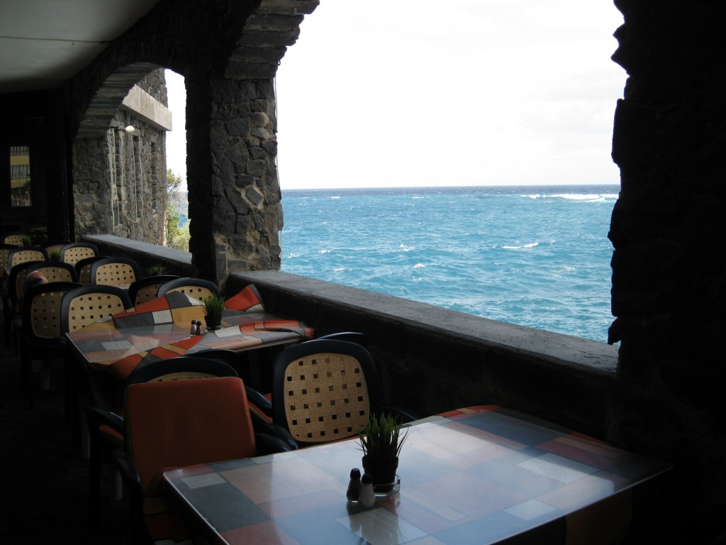 restaurace u moře